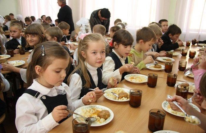обеды в школе для начальных классов