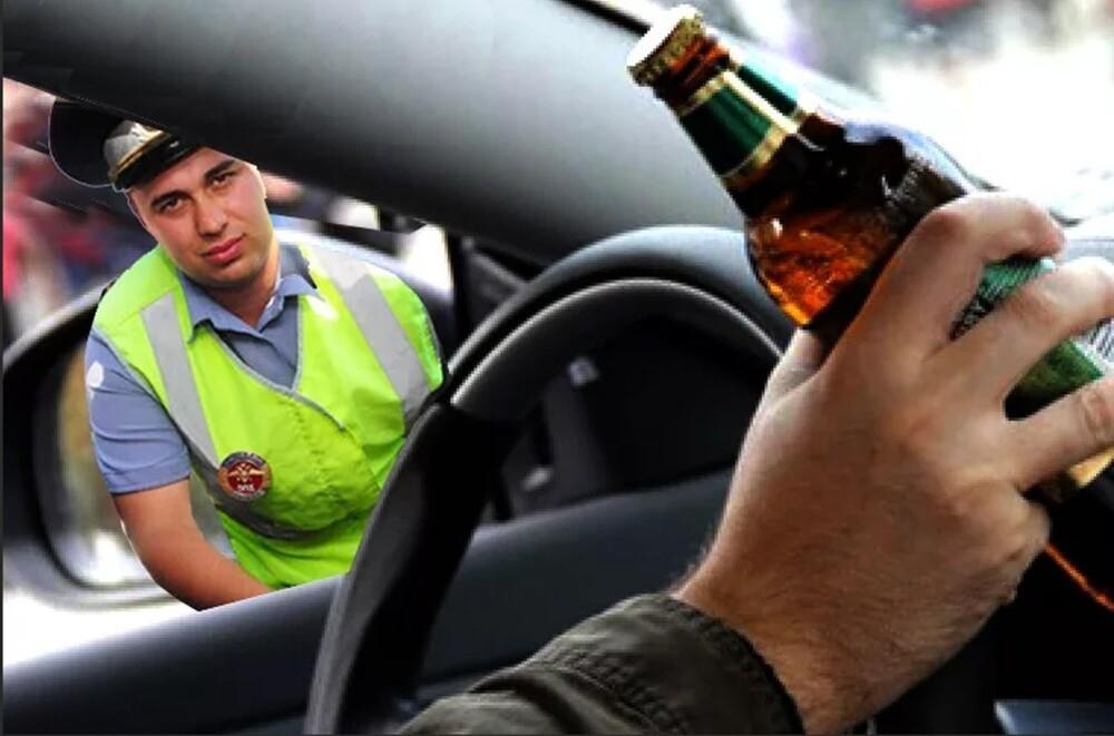 Можно ли распивать спиртные напитки в автомобиле?
