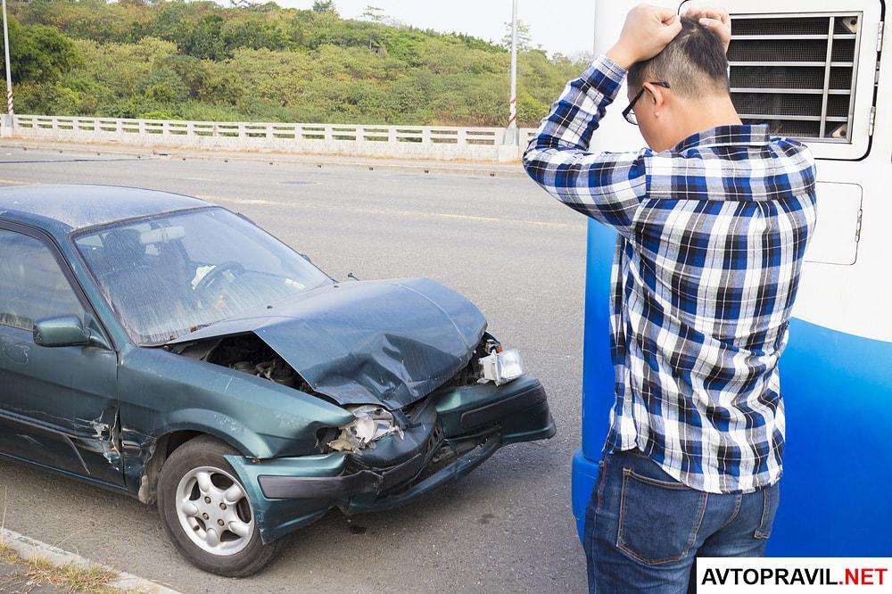 водитель скрылся с места дтп что делать