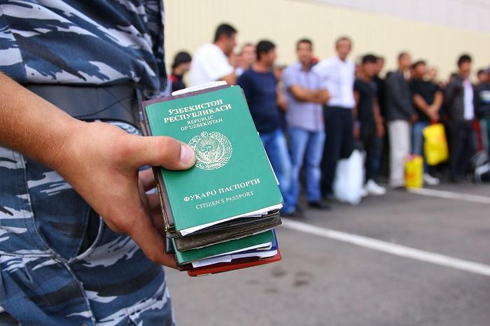 штраф за нарушение паспортного режима в россии